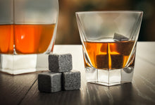 WHISKY STONES IN DOMINO STYLE WOODEN BOX