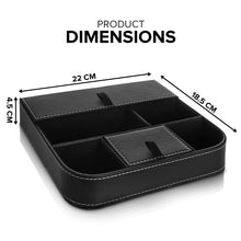 6 COMPARTMENT VALET ORGANISER