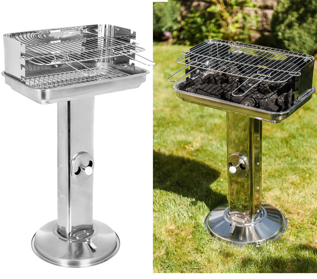 STAINLESS STEEL PILLAR BBQ