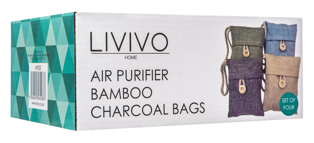 SET OF 4 AIR PURIFIER BAGS