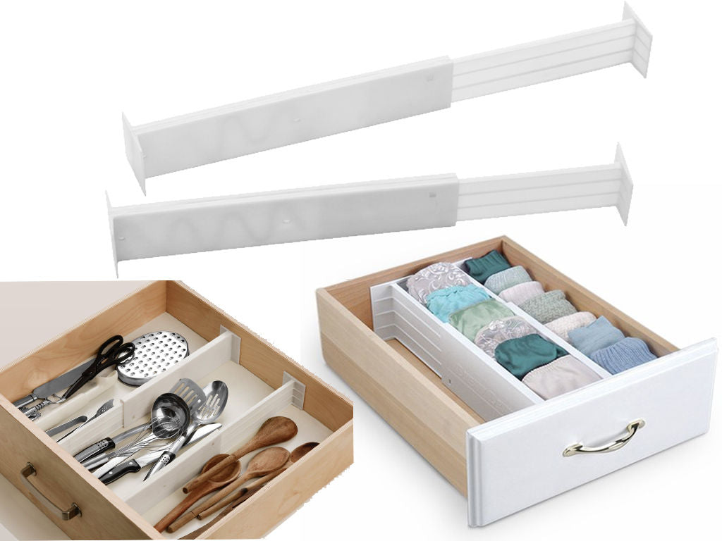 ADJUSTABLE SPRING DRAWER DIVIDERS