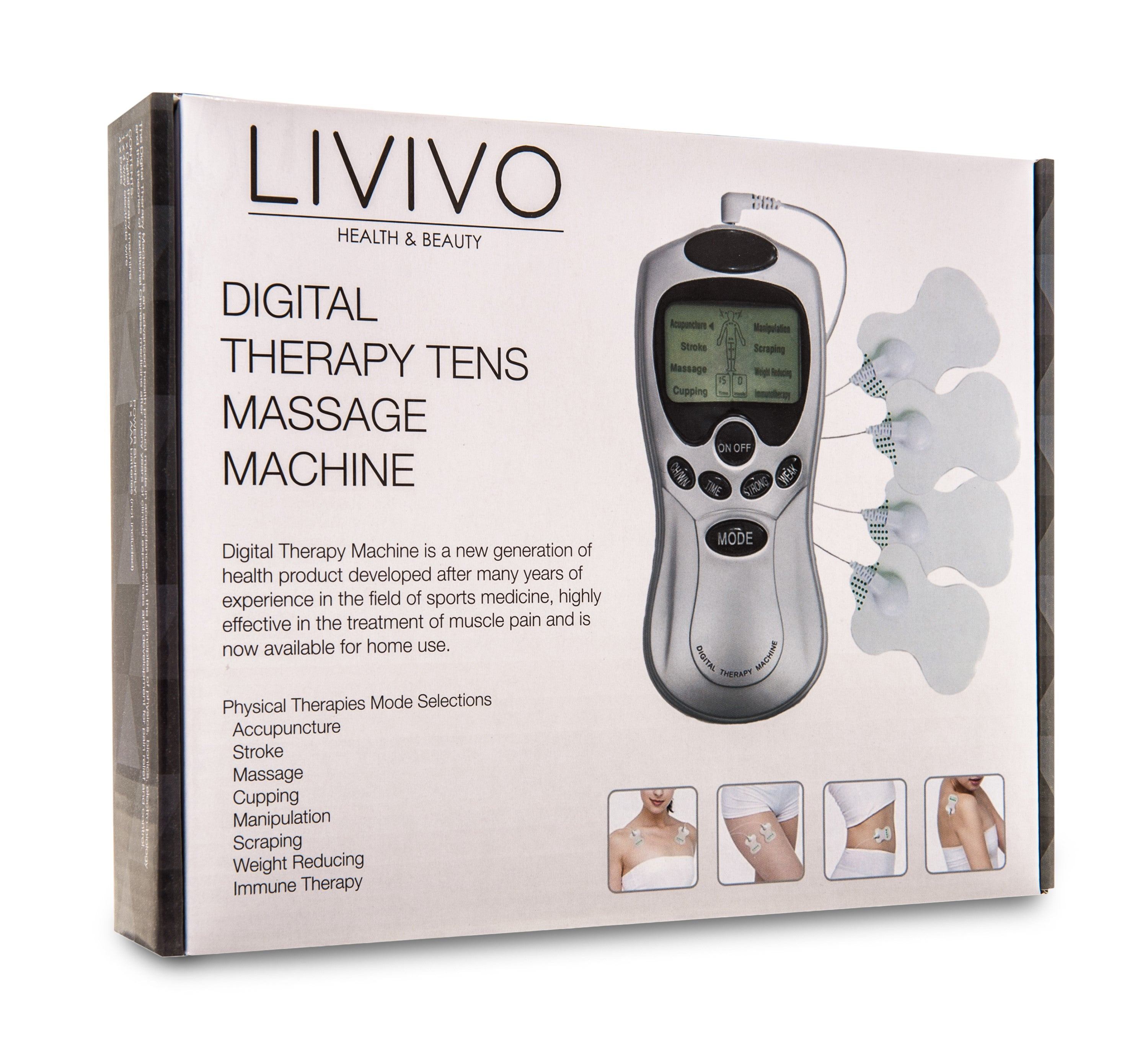 DIGITAL TENS MACHINE 16 MODES
