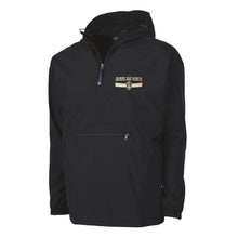 Black Windbreaker Pullover