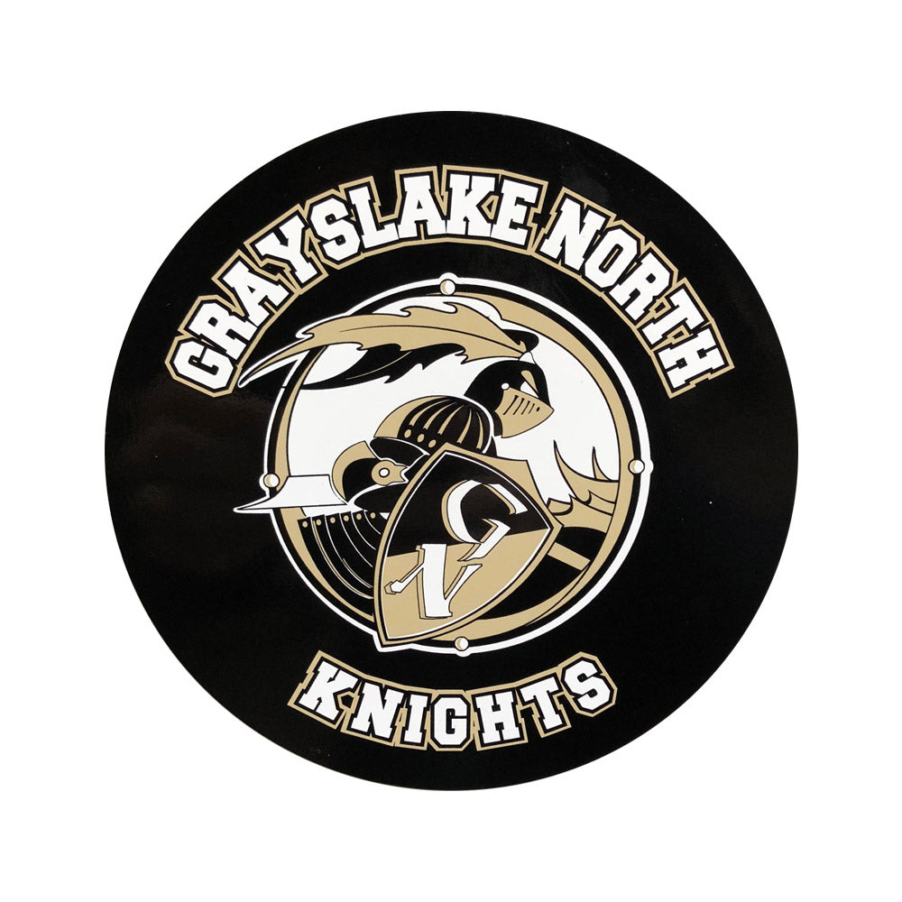 Knights Car Magnet