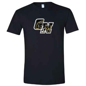 GN Black T-shirt with Fight Song on back
