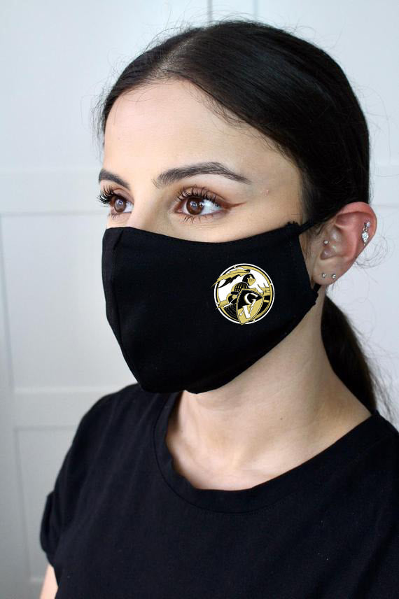 Face Mask, Round Logo