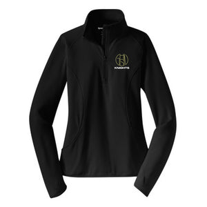 Ladies 1/4-Zip Pullover