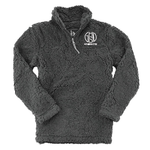 Charcoal Sherpa Pullover