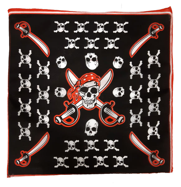 Pirate Bandana (pack of 12)