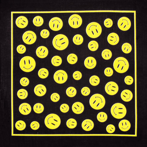 Yellow Smiles Bandana