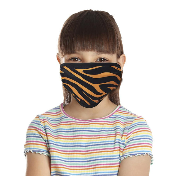 Safari Print Face Mask, Child (Pack of 4)