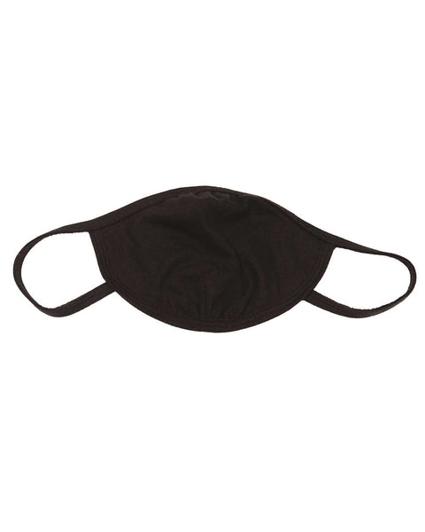 Gildan Cotton Everyday Mask - Adult, Black