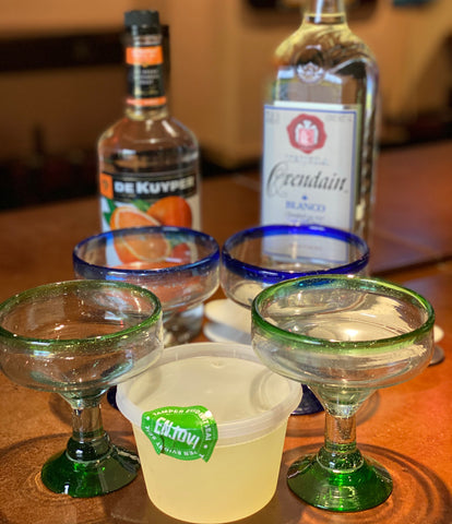Traditional House Margarita Now Available to Go