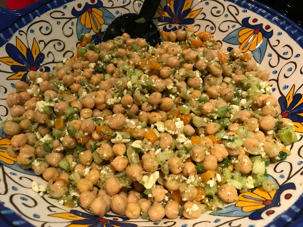 Jalapeño & Garbanzo Bean Salad