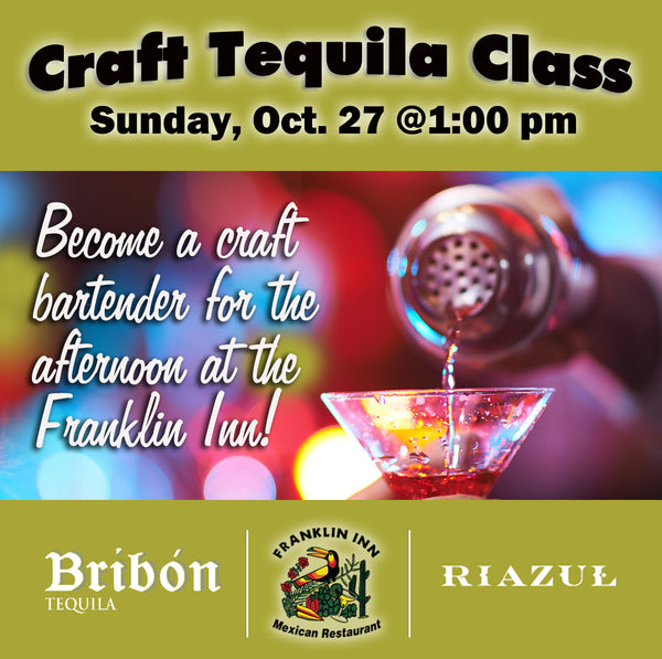 Craft Tequila Cocktail Class