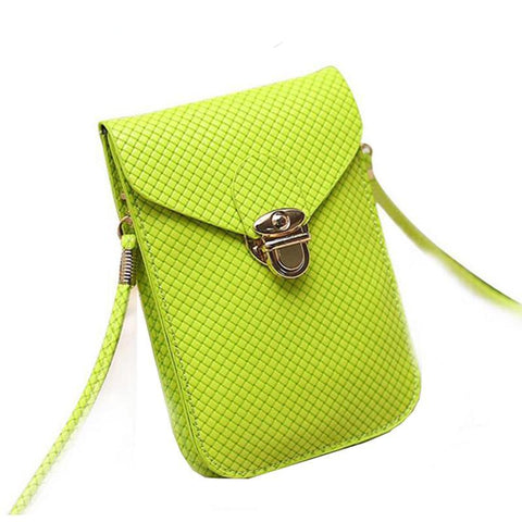 Gold G Mobile Crossbody Purse