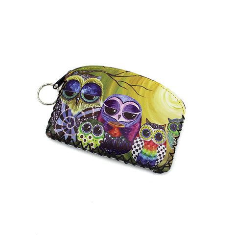Graffiti Printed Change Purse