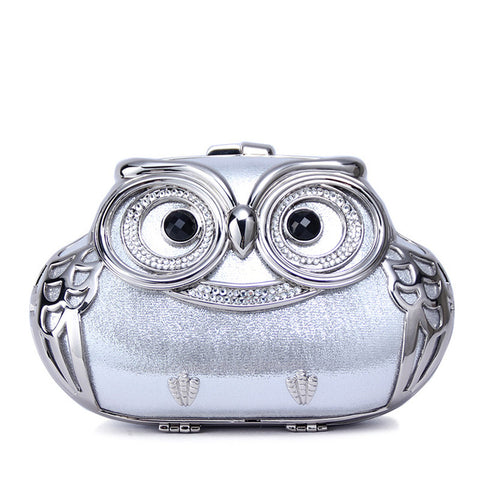 Mini Clutch Owl Evening Bag