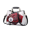 Image of Elprine Painted Shoulder Tote Bag