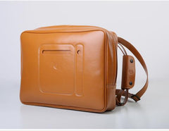 Cross Belt Waterproof Leather B-pack
