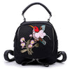 Image of Flowbird Embroidery Backpack