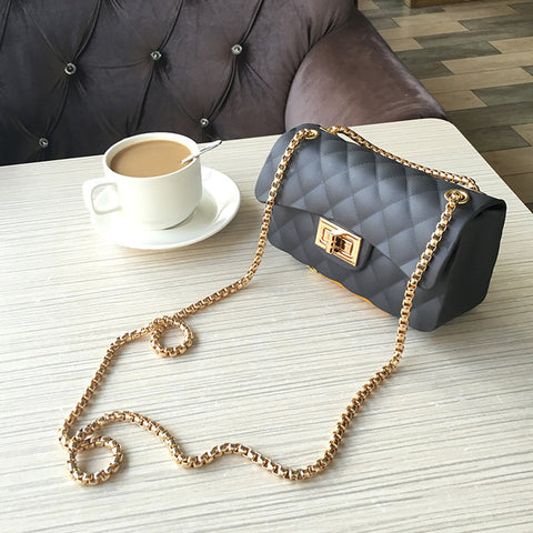Mini Frosted Jelly Shoulder Bag