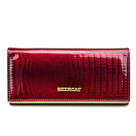 Ossaira Leather Clutch Wallet