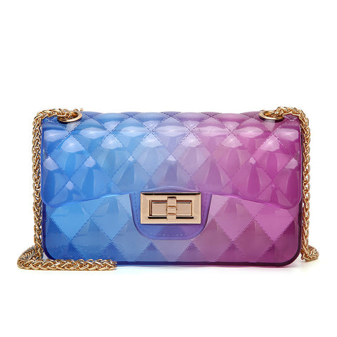 Lady Gradient Ramp Shoulder Bag