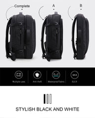 Cabin Compatible Detachable Travel Backpack-17""