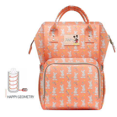 Disney Waterproof USB Bottle Feeding Travel Bag