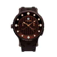 S-Choco, Automatic Chronograph - Diameter 44mm - NOA Watch