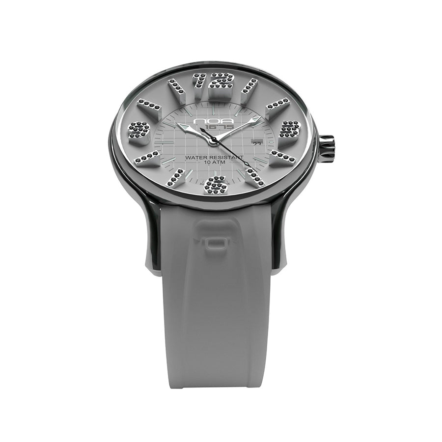 Ladies Quartz Diamonds  - Diameter 36mm - NOA Watch