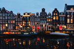 Amsterdam | Canal at night