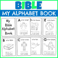 Bible Alphabet DIY Booklet