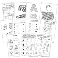 The Ultimate Alphabet and Phonics Binder - DIGITAL FILE
