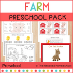 Alphabet Preschool Theme Pack - FARM
