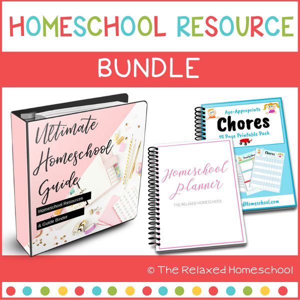 Ultimate Homeschool Binder - Resource Guide