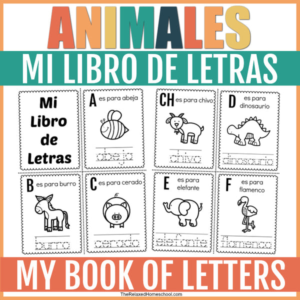 Spanish Alphabet Booklet
