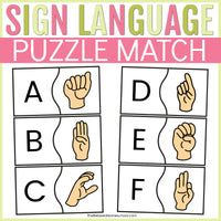 Sign Language Puzzles