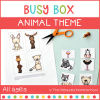 Animal Busy Box