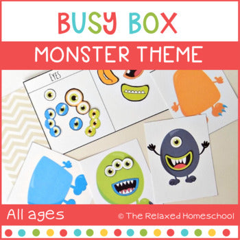 Monster Busy Box