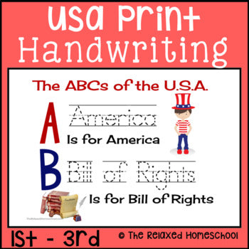 Printing Handwriting Practice - USA