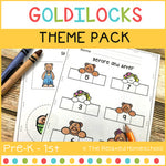 Goldilocks Theme Pack: K - 1st