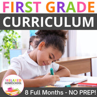 First Grade Curriculum - Digital PDF