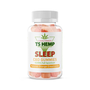 TS Hemp Clinical Strength Sleep Gummies 15 count