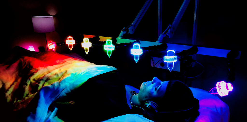 Light therapy, color therapy, crystal therapy, Pulsed Electromagnetic therapy, pemf, Wellness, enlightenment, meditation, healing, energy healing, sound therapy, Brain balancing, sound waves, energy waves, light waves