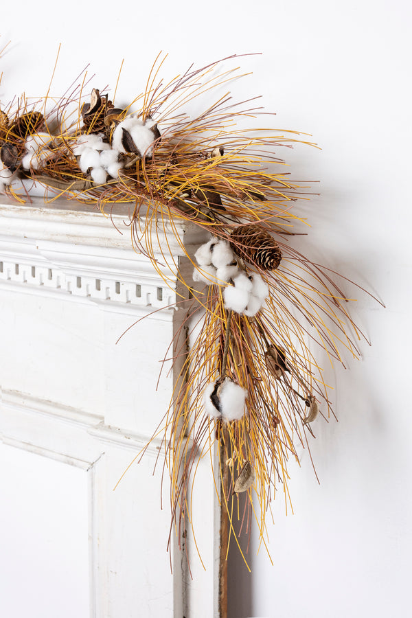 Cotton & Needles Garland