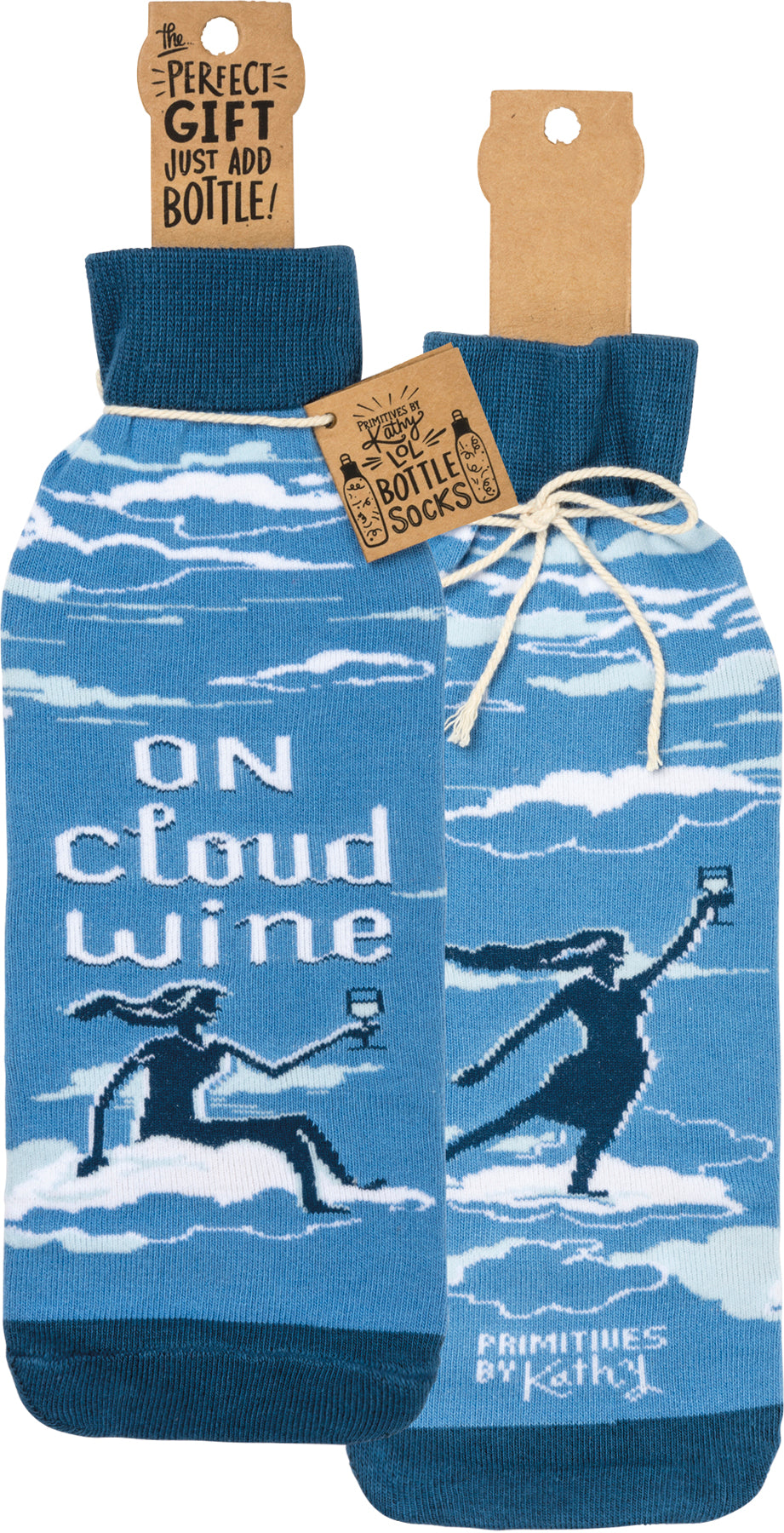 On Cloud Wine ... Bottle Cover