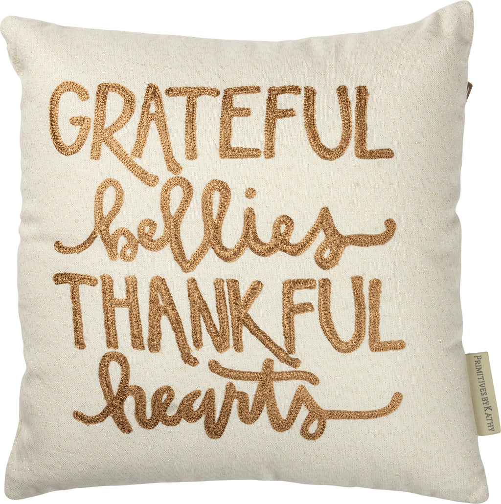 Grateful Bellies Pillow Insert Included