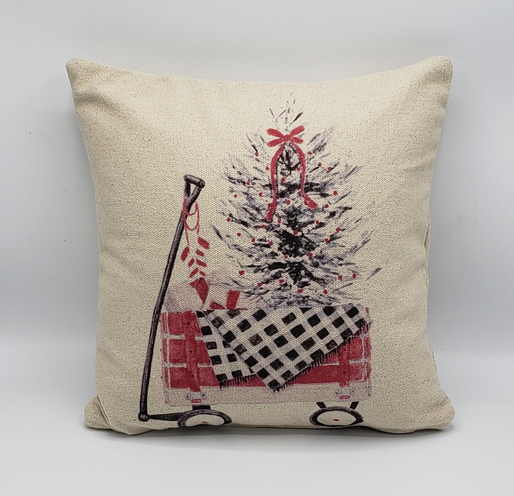 Blanket Tree Wagon Pillow